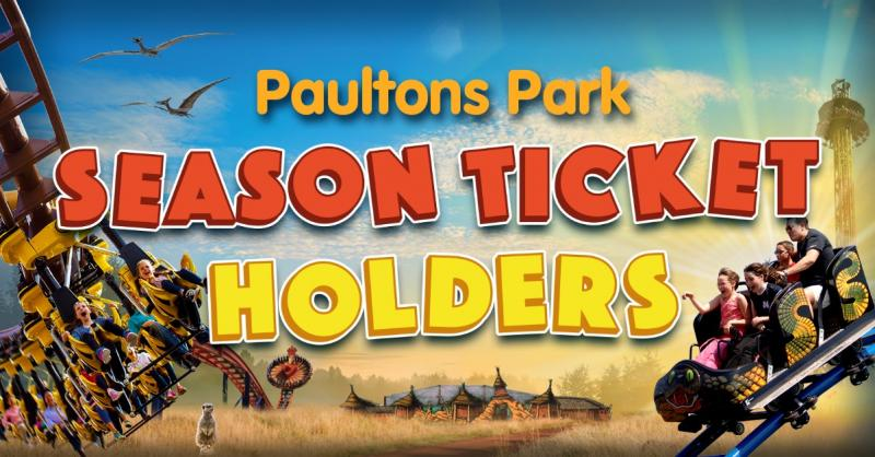 Paultons Park Season Ticket Holders