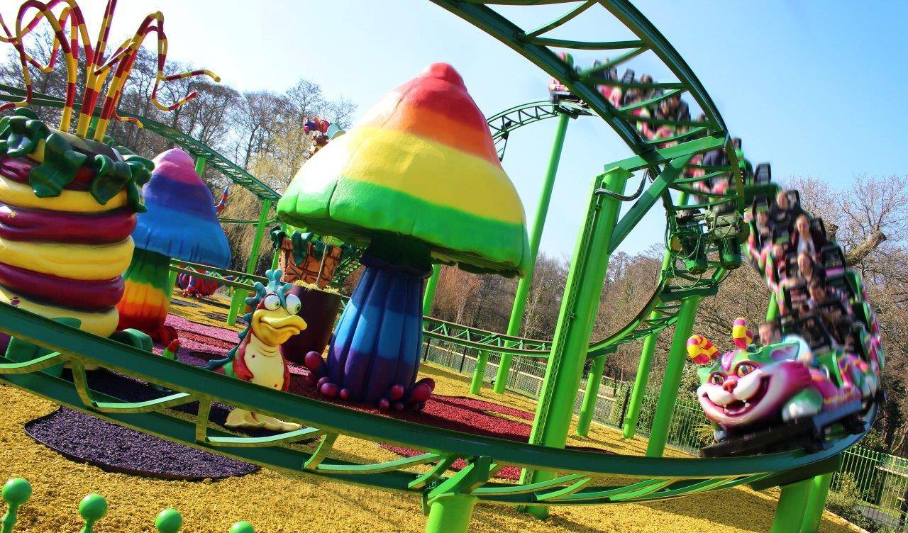 Cat-o-pillar Coaster Ride