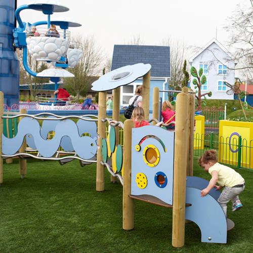 Mr Potato's Outdoor Adventure Playground in Peppa Pig World