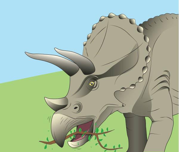 dinosaur-eating-branch