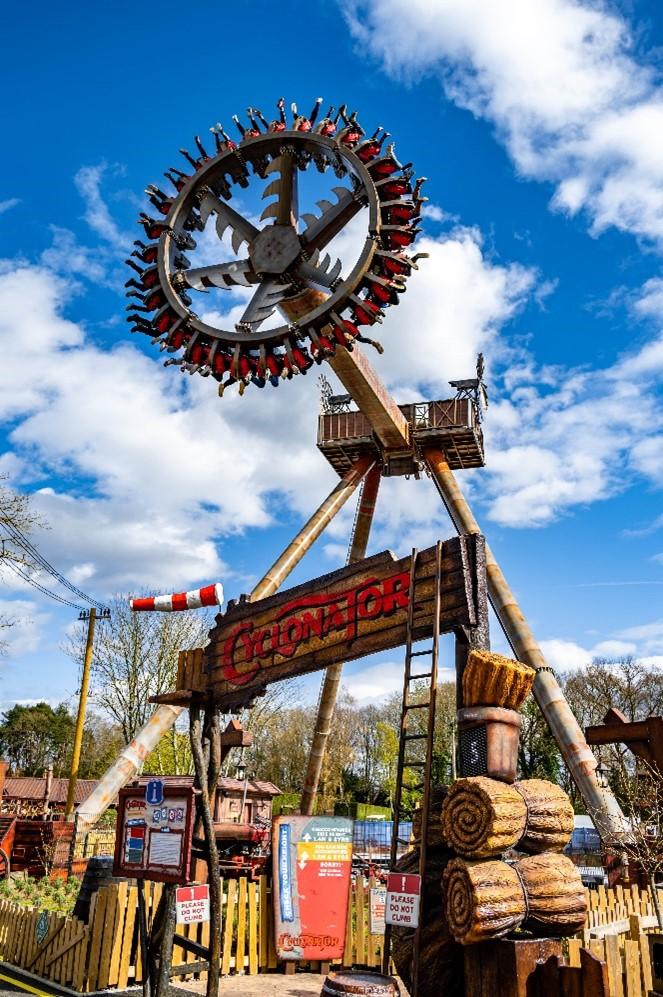 Cyclonator gyro swing pendulum