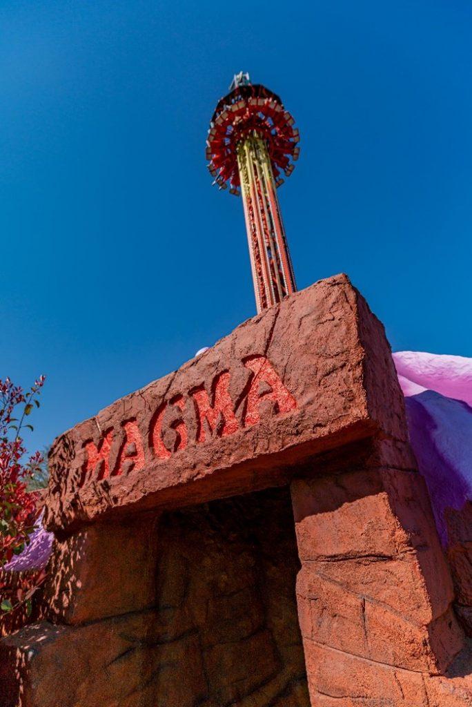 The Magma Drop Ride